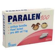 PARALEN 100 100MG čípek 5