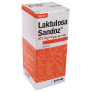 LAKTULOSA SANDOZ 670MG/ML perorální SOL 1X500ML IIA