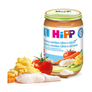 HiPP MENU Těst.s moř.rybou a rajč. 220g