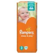 PAMPERS Sleep&Play Midi 4-9kg 58ks