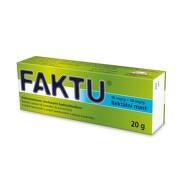 FAKTU 50MG/G+20MG/G rektální UNG 20G