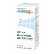 CALCIUM PHOSPHORICUM DHU D5-D30 neobalené tablety 80