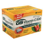 GS Vitamín C 500 se šípky tbl.50+10