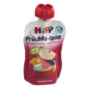 HiPP PYRÉ BIO Jablko-Broskev-Lesní ovoce 90g