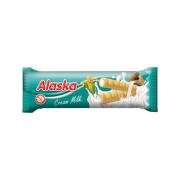 Kukuřičné trubičky Alaska mléčný krém 18g