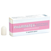 PHARMATEX VAGINALNI GLOBULE 18,9MG vaginální GLB 10