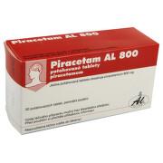 PIRACETAM AL 800 800MG potahované tablety 30