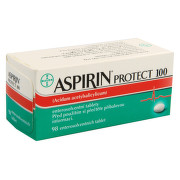 ASPIRIN PROTECT 100 100MG enterosolventní tableta 98