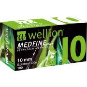 JEHLY WELLION MEDFINE PLUS PRO VŠECHNA INZULÍNOVÁ PERA VEL.29GX10MM,100KS