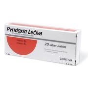PYRIDOXIN LÉČIVA perorální neobalené tablety 20X20MG