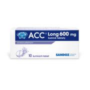ACC LONG 600MG šumivá tableta 10