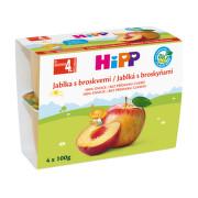 HiPP 100% OVOCE BIO Jablka s broskv. 4x100g