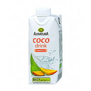 Alnatura Kokosový nápoj s mangem BIO 0.33l