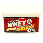 Maximum Whey Protein Isolate 92 2200g vanilka