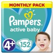 Pampers Active Baby Pleny  S4  152ks