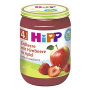 HiPP OVOCE BIO Jablka s jahodami a malinami 190g