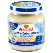 Alnatura Losos dětská výživa 125g 4M