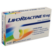 LIVOREACTINE 10 MG perorální potahované tablety 21X10MG