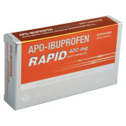 APO-IBUPROFEN RAPID 400 MG SOFT CAPSULES perorální měkké tobolky 10X400MG