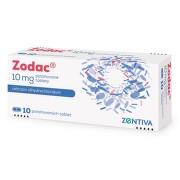 ZODAC perorální potahované tablety 10X10MG