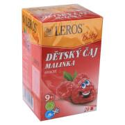 LEROS BABY Dětský čaj Malinka n.s.20x2g