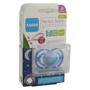 MAM Dudlík Perfect Night 6+ měsíců silikon 1ks