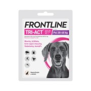 Frontline Tri-Act psi 20-40kg spot-on 1x1 pipeta