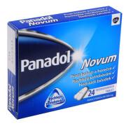 PANADOL NOVUM 500MG potahované tablety 24
