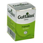 GUTTALAX 5MG neobalené tablety 20