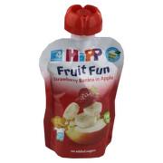 HiPP PYRÉ BIO Jablko-Banán-Jahoda 90g