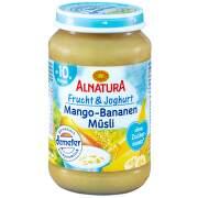 Alnatura Ovoce jogurt mango banány müsli 190g 10M