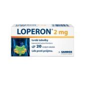 LOPERON CPS perorální tvrdé tobolky 20X2MG