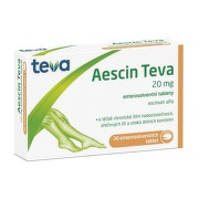 AESCIN-TEVA 20MG enterosolventní tableta 30