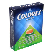 COLDREX 500MG/25MG/5MG/20MG/30MG neobalené tablety 12