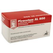 PIRACETAM AL 800 800MG potahované tablety 100