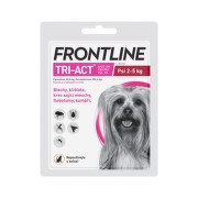 Frontline Tri-Act psi 2-5kg spot-on 1x1 pipeta