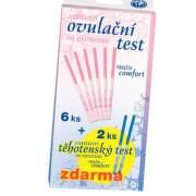 Ovulační test COMFORT PROUŽEK 6ks+2ks TT zdarma