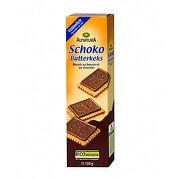 Alnatura Máslové sušenky čokoládové 130g