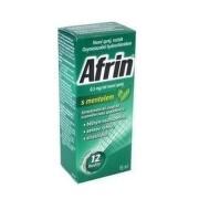 AFRIN S MENTOLEM 0,5MG/ML nosní podání SPR SOL 15ML