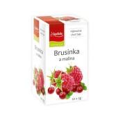 Apotheke Brusinka a malina čaj 20x2g n.n.