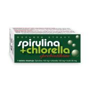 Spirulina + Chlorella + Prebiotikum tbl.90