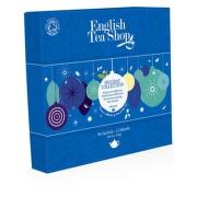 English tea XMAS 96 n.s. modré ozdoby papír. bio