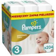 Pampers Plenky Premium Monthly Box S3 204