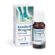 EXODERIL kožní podání SOL 1X10ML