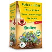 HERBEX Játra a žlučník 20x3 g