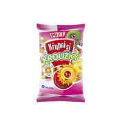 Kroužky ovocné s vitamínem C bezlepkové 90g