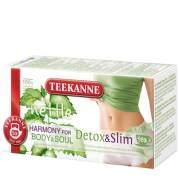 TEEKANNE Harmony for Body&Soul Detox&Slim 20x1.6g