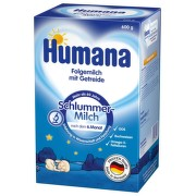 Humana Na dobrou noc Pokrač. výživa 600g/po 6m.