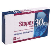 STOPEX 30 MG TABLETY perorální neobalené tablety 30X30MG