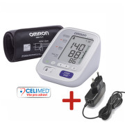 Tonometr dig.OMRON M3 Comfort +síť.zdroj (CELIMED)